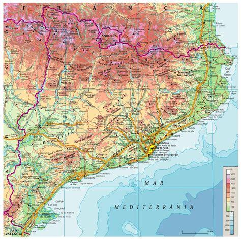 Geografia de Catalunya   TenimTemps