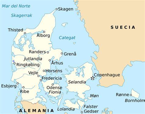 Geografía de Dinamarca   Wikipedia, la enciclopedia libre