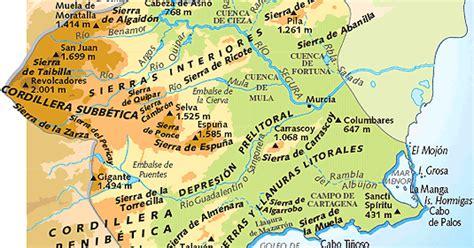 Geografía de España. 2º Bach.: Resumen geográfico Región ...
