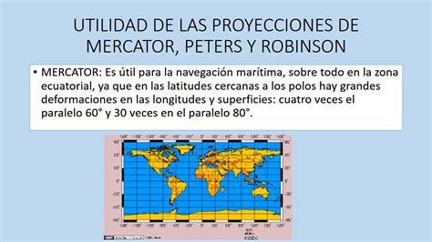 GEOGRAFÍA DE MÉXICO Y EL MUNDO: Proyecciones Cartográficas