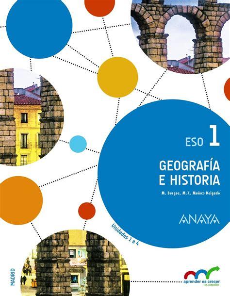 Geografía e Historia 1º ESO  Aprender es crecer en ...