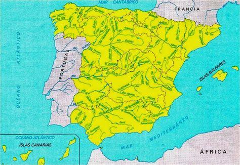 Geografía e Historia 1º ESO : MAPA FÍSICO DE ESPAÑA