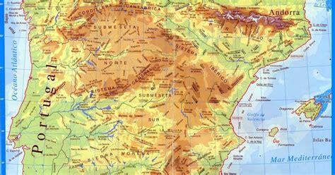 Geografía e Historia: IES Vega del Táder: Mapa físico de ...