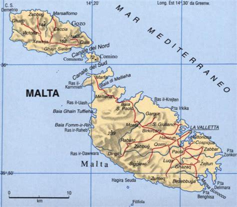 Geografia Europa Territorio Storia Economia Malta