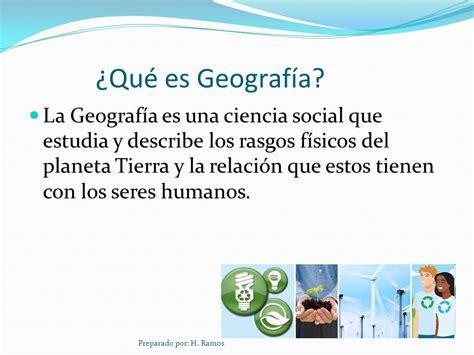 Geografía Preparado por: H. Ramos.   ppt descargar