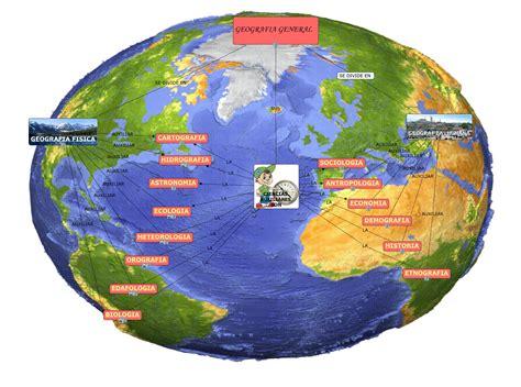 Geografia: RAMAS DE LA GEOGRAFIA