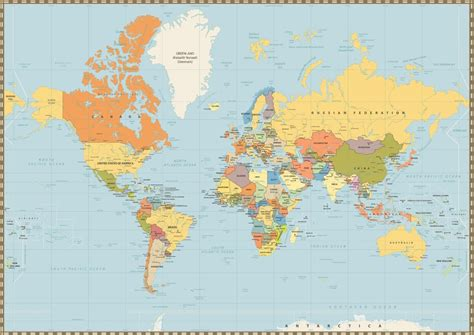 Geographical misconceptions you can blame on the Mercator ...
