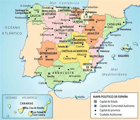 Geography and History Blog 1º ESO: España Político  CCAA y ...