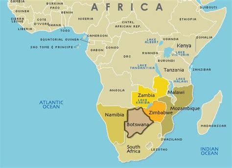 Geography of Botswana   Where is Botswana?