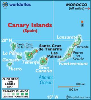 Geography of Canary Islands, Landforms, Glaciers, Mt ...
