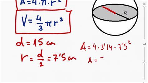 Geometría: area y volumen de la esfera   YouTube