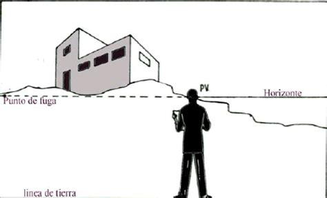 geometria descriptiva FUS: PERSPECTIVA CON DOS PUNTOS DE FUGA.