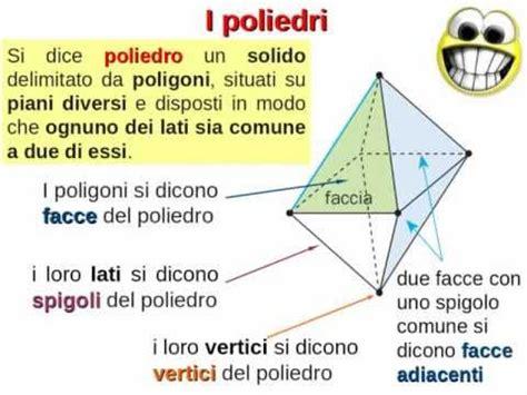 Geometria nello spazio e Solidi  2/3 : poliedri. Teoria ed ...