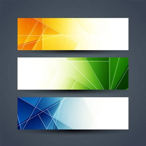 Geometric Banner Vectors, Photos and PSD files | Free Download