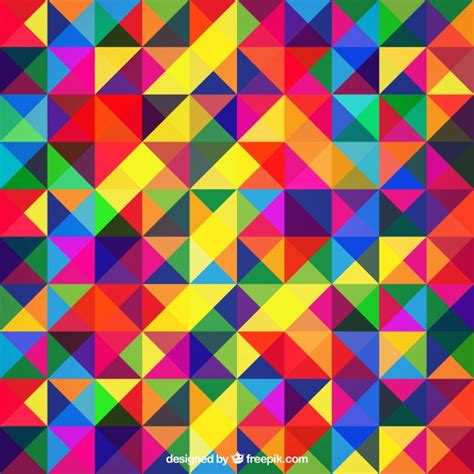 Geometric Colourful Vectors, Photos and PSD files | Free ...