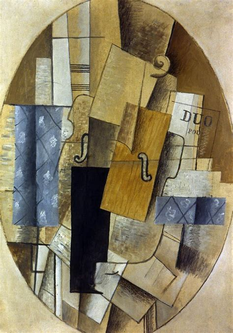 George Braque still life. Example of synthetic cubism ...