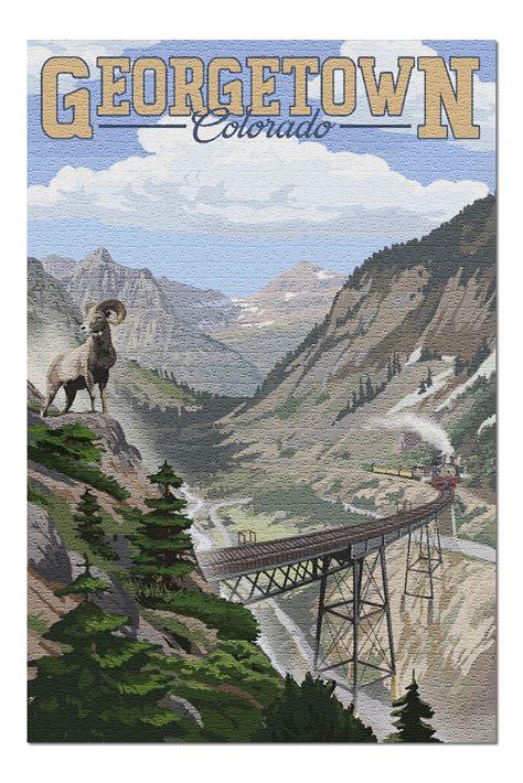 Georgetown, Colorado   Georgetown Railroad Loop 99617 ...