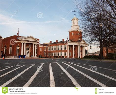 Georgetown Delaware Town Hall And Sussex County Courthouse ...