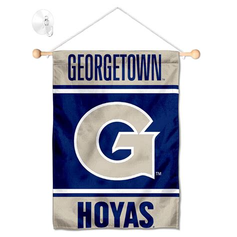 Georgetown University Small Banner with Suction Cup ...