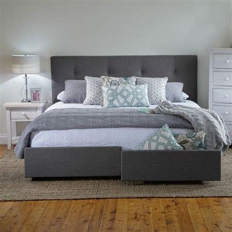 Georgia King Bed Frame with Storage Drawers   Products ...
