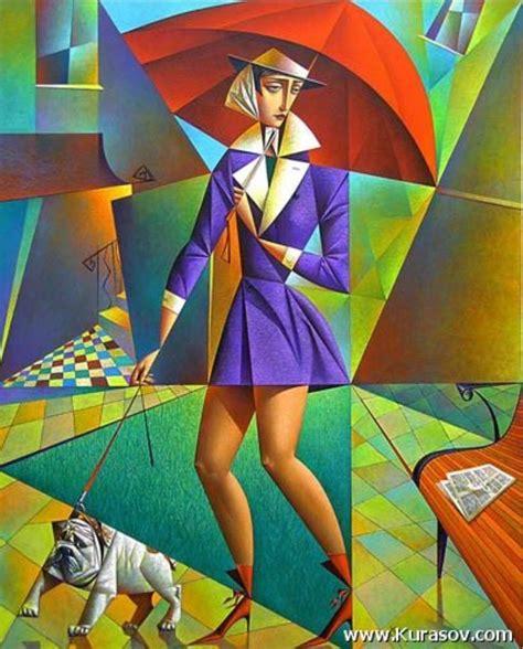 Georgy Kurasov: cubismo, color y mundo clásico