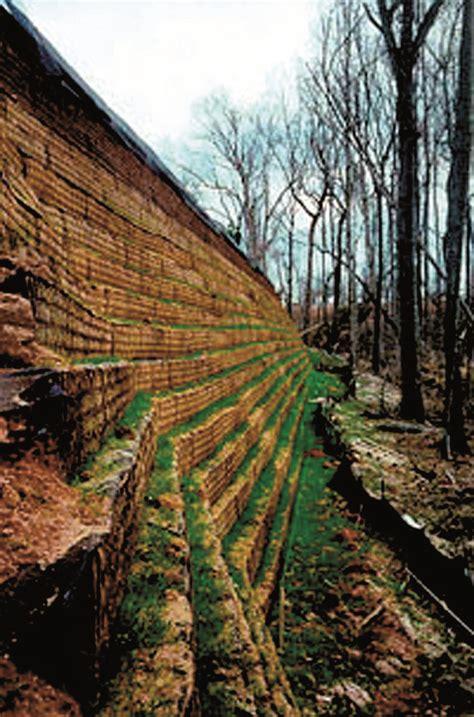 Geotextiles no tejidos en taludes y muros de contención ...