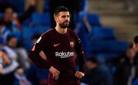 Gerard Piqué se ausentó del entrenamiento del Barcelona ...