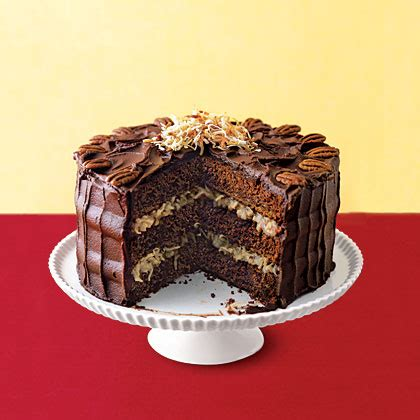 German Chocolate Cake Recipe | MyRecipes