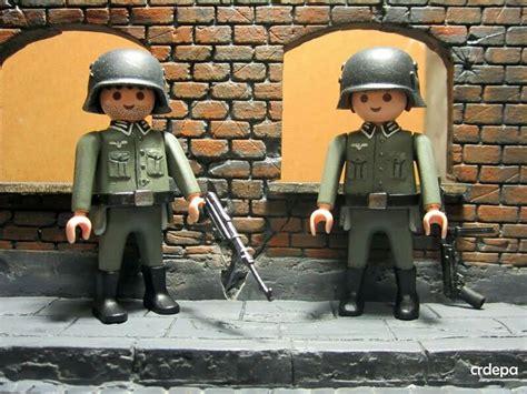 German soldiers #playmobil #ww2 #germansoldier | Playmobil ...