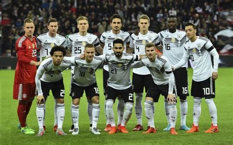 Germany National Football Players 2018 for FIFA World Cup ...