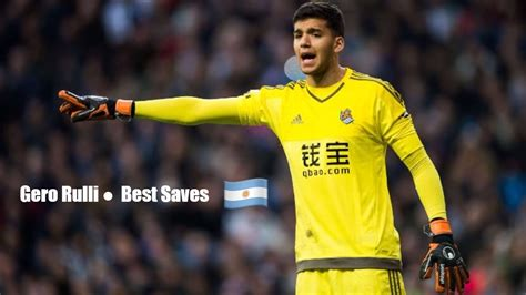 Geronimo Rulli Amazing Saves  2014 2017    YouTube