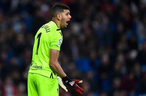 "Geronimo RULLI of Argentina: ""My goal is to start at the ..."