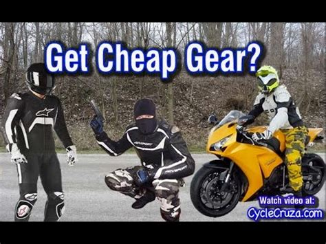 Get Cheap Unknown Brand Motorcycle Gear? | Moto Vlog   YouTube