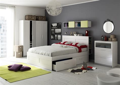 Get the Breezy Atmosphere with IKEA Bedroom Ideas | atzine.com