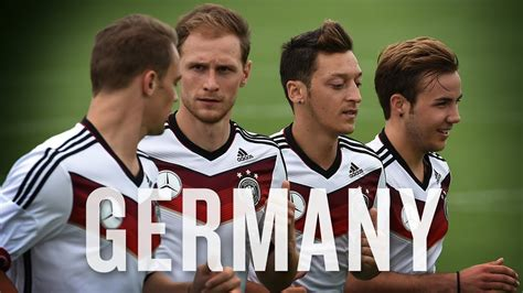 Get to know Germany, terrifying soccer death machine ...