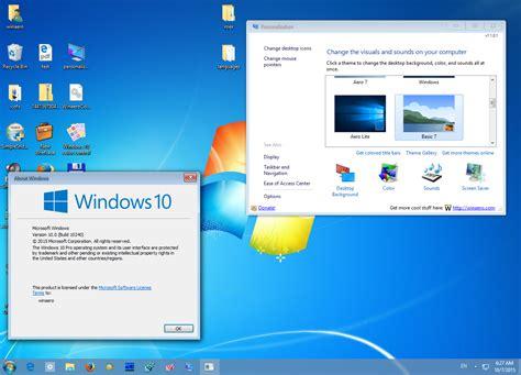 Get Windows 7 theme for Windows 10   Winaero