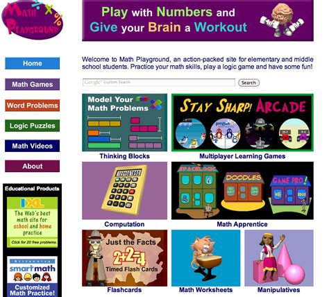 Getting Rewired with Technology: BP5_Math Playground Web 2 ...