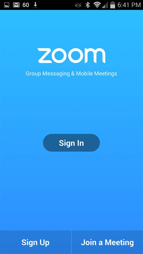Getting Started with Android – Zoom Help Center