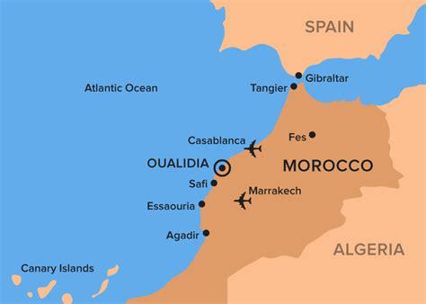 Getting to Lagoon Lodge, Oualidia, Morocco