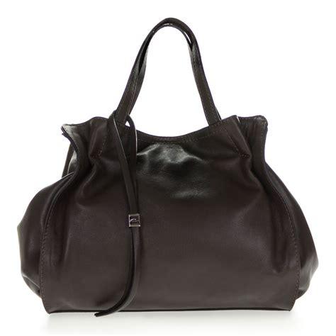 Gianni Chiarini Italian Made Dark Brown Leather Handbag ...