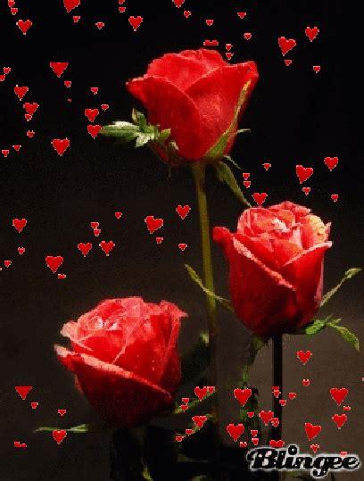 Gif Animados De Amor Con Rosas Rojas Y Corazones