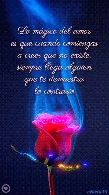 gif de rosa con frase de amor | Frases de rosas, Frases de ...