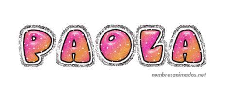 Gifs Animados del Nombre Paola. Imágenes gifs. Firmas animadas