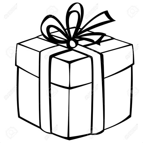 Gift Box Drawing at GetDrawings   Free download