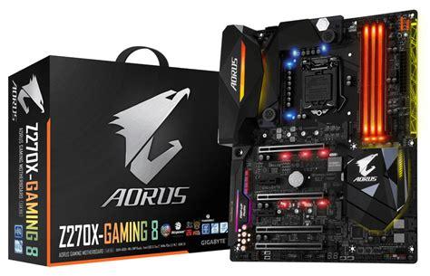 Gigabyte anuncia la placa base Aorus Z270X Gaming 8