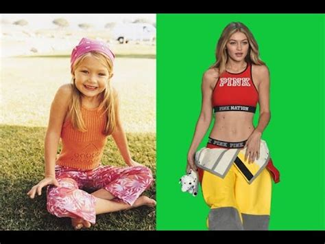 Gigi Hadid   from 1 to 22 years old   YouTube