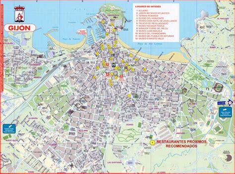 Gijon Map