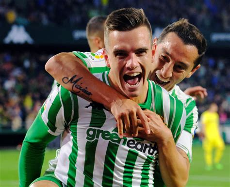 Giovani LO CELSO with two goals in Real Betis 2 1 win ...