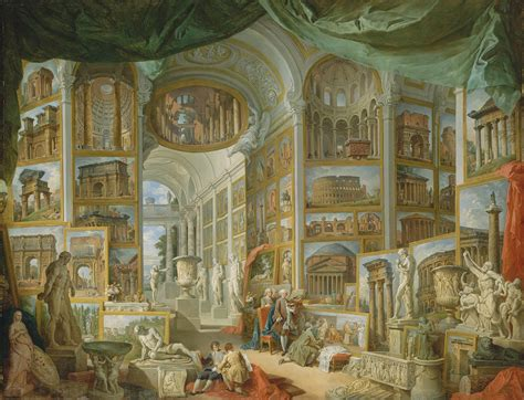 Giovanni Paolo Panini: Ancient Rome  52.63.1  | Heilbrunn ...