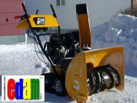 GIOVANNI SNOWBLOWER GIO 1101Q   YouTube